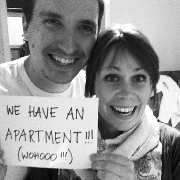 vi har en lägenhet